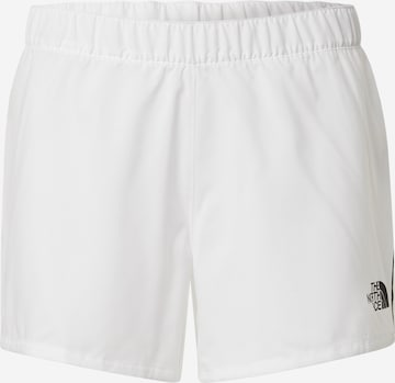 THE NORTH FACE Outdoor trousers in White
