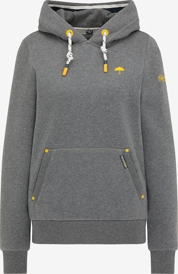 Schmuddelwedda Sweatshirt in gelb / graumeliert, Produktansicht