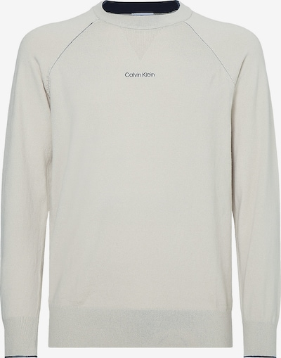Calvin Klein Trui in de kleur Lichtgrijs / Zwart, Productweergave