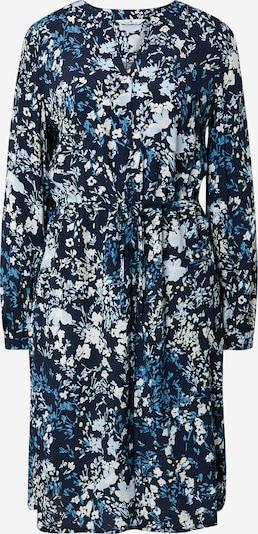 TOM TAILOR Jurk in de kleur Blauw / Navy / Pasteelgeel / Wit, Productweergave