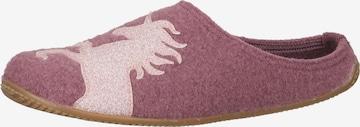 Living Kitzbühel Slippers in Pink