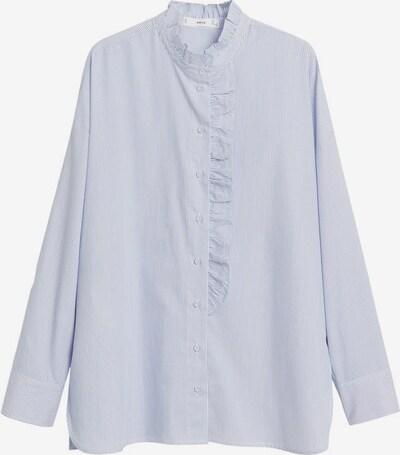 MANGO Halenka 'Antonieta' - modrá / bílá, Produkt
