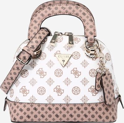 GUESS Ručna torbica 'CESSILY' u rosé / crna / bijela, Pregled proizvoda