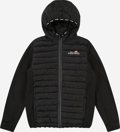 ELLESSE Jacke 'Glinta' in grau / orange / rot / schwarz, Produktansicht