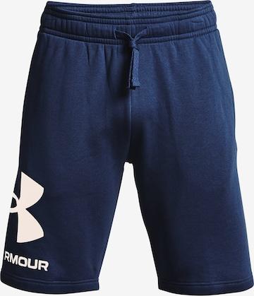 UNDER ARMOUR Sporthose 'Rival Fleece' in Blau