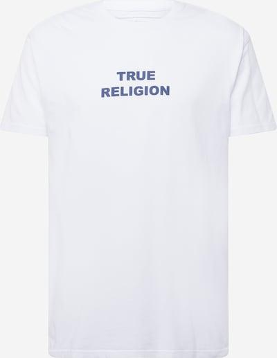 Tricou True Religion pe albastru / alb, Vizualizare produs