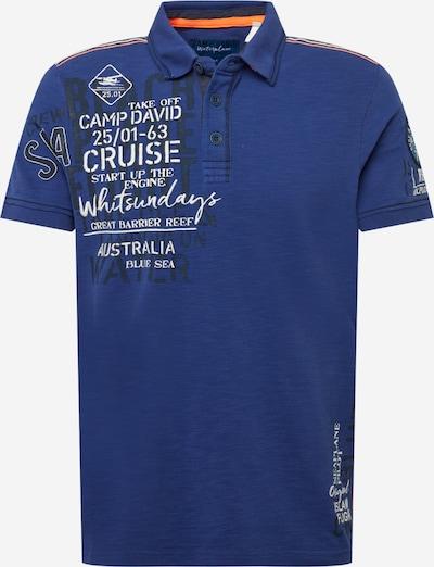 CAMP DAVID T-Shirt en marine / bleu marine / blanc, Vue avec produit