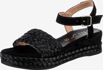 UNISA Sandale in Schwarz