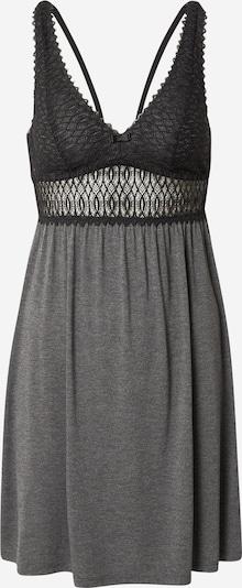 TRIUMPH Chemise de nuit 'Aura' en gris / noir, Vue avec produit