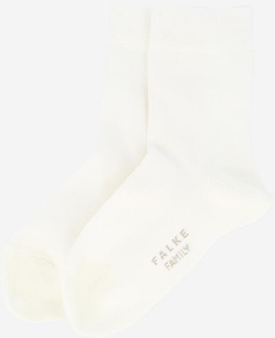 FALKE Socken 'Family' in weiß, Produktansicht