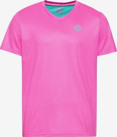 BIDI BADU T-Shirt Ted Tech in zurückhaltendem Design in pink, Produktansicht