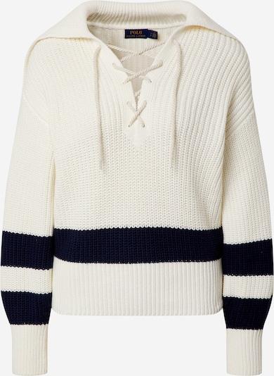 POLO RALPH LAUREN Sweat-shirt en crème / bleu marine, Vue avec produit