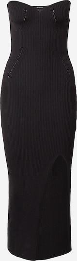 Gina Tricot Stickad klänning 'Pia' i svart, Produktvy