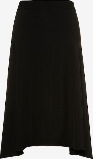 Ulla Popken Jerseyrock in schwarz, Produktansicht