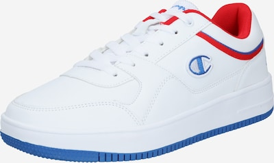 Champion Authentic Athletic Apparel Sneakers laag in de kleur Blauw / Lichtrood / Wit, Productweergave