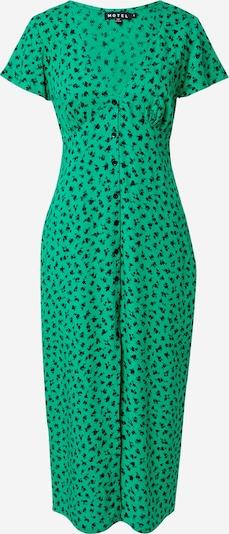 Motel Kleid 'LARIN' in grasgrün / schwarz, Produktansicht