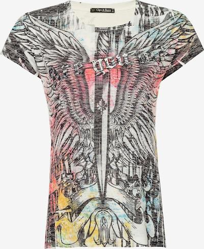 CIPO & BAXX T-Shirt 'DAGGER HEART' in anthrazit, Produktansicht