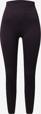 ABOUT YOU Спортен панталон 'Daria' в черно
