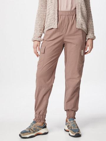 Pantalon cargo 'Brooke' Esmé Studios en beige