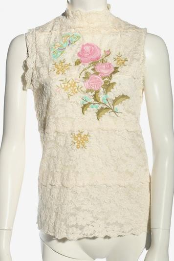Kathleen Madden Spitzenbluse in M in pink / wollweiß, Produktansicht