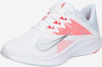 NIKE Chaussure de course en opal / rose / argent / blanc, Vue avec produit