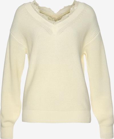LASCANA Pullover in hellgelb, Produktansicht