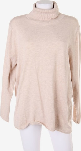 Clarina Sweater & Cardigan in 4XL in Beige