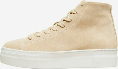 SELECTED FEMME Sneaker in beige, Produktansicht