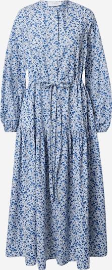 IVY & OAK Košeľové šaty - modrá / svetlomodrá / zelená / biela: Pohľad spredu