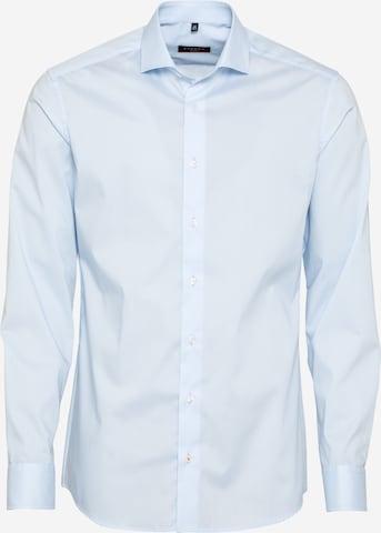 ETERNA Langarm Hemd SLIM FIT in Blau
