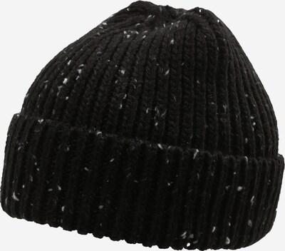 JACK & JONES Bonnet 'Cliff' en noir / blanc, Vue avec produit
