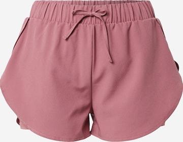 ABOUT YOU Spordipüksid 'Jamila', värv roosa
