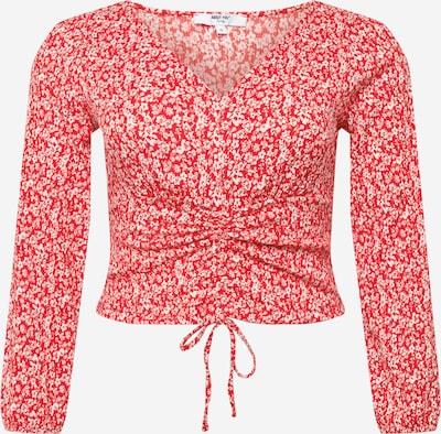 ABOUT YOU Curvy T-shirt 'Danai' en mélange de couleurs / rouge, Vue avec produit