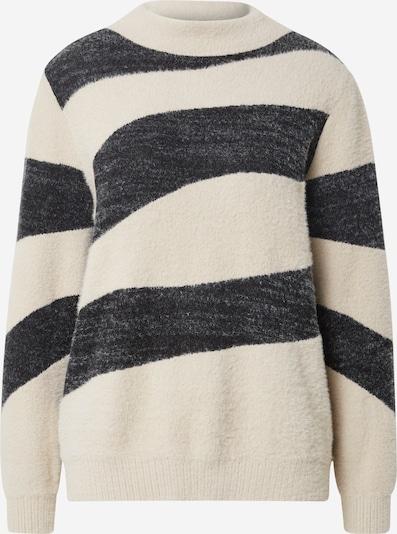 STREET ONE Пуловер в бежово / черен меланж, Преглед на продукта