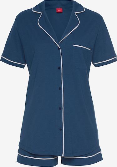 Pižama su šortais iš s.Oliver , spalva - mėlyna / balta, Prekių apžvalga