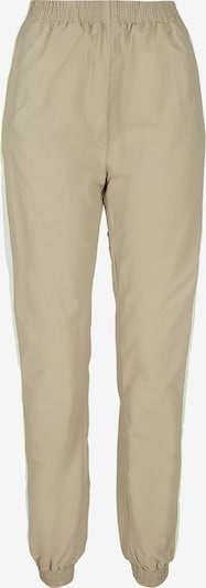 Urban Classics Trousers in Camel / Neon green / White, Item view