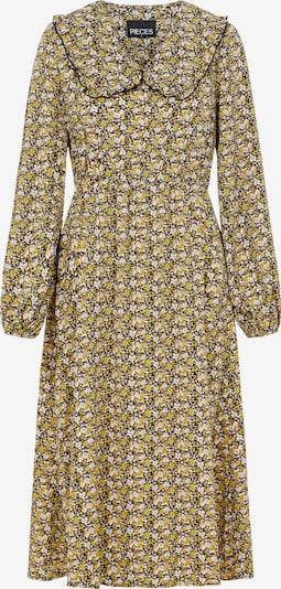 PIECES Vestido 'Crimbla' en amarillo / negro, Vista del producto