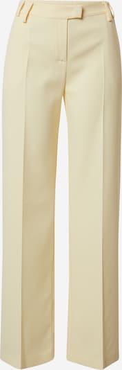 PATRIZIA PEPE Viikidega püksid 'PANTALONI' pastellkollane, Tootevaade