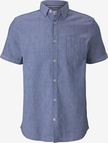 TOM TAILOR Hemd in Blau
