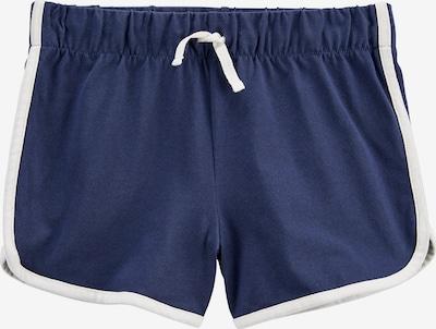 OshKosh Shorts in dunkelblau / weiß, Produktansicht