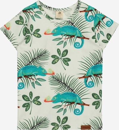 Walkiddy Shirt in karamell / grün / jade / melone / weiß, Produktansicht