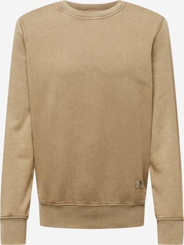 DIESEL Sweatshirt 'GIRK' in Braun