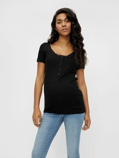 MAMALICIOUS Bluse 'Eden' in schwarz, Modelansicht