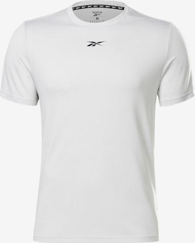REEBOK Shirt in schwarz / weiß, Produktansicht