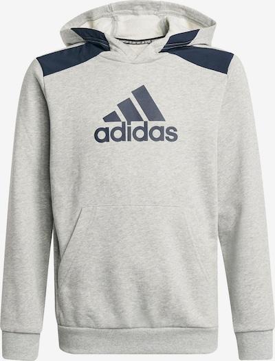 ADIDAS PERFORMANCE Sportsweatshirt in hellgrau / schwarz, Produktansicht