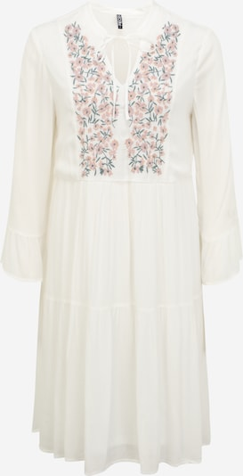 Pieces Tall Dress 'LEIA' in Green / Mauve / Orange / Off white, Item view