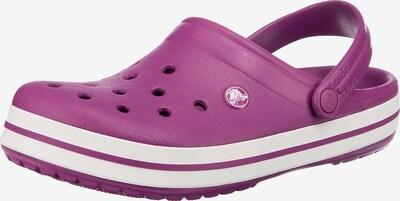 Crocs Clogs 'Crocband' in lila / weiß, Produktansicht