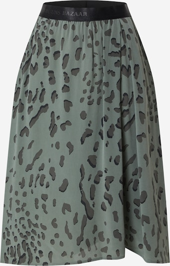 BRUUNS BAZAAR Rock in grau / khaki / schwarz, Produktansicht