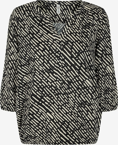 Soyaconcept Bluse in creme / schwarz, Produktansicht