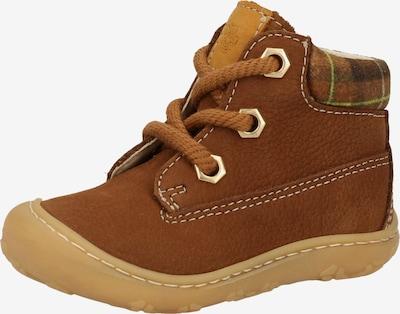 Pepino Chaussure basse en marron, Vue avec produit